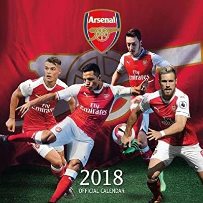 We Are The Arsenal Official 2018 Calendar Arsenal Football Club Plc