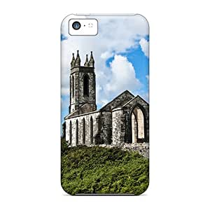 New Design Shatterproof Apl39269eynz Cases For Iphone 5c (irish Church)
