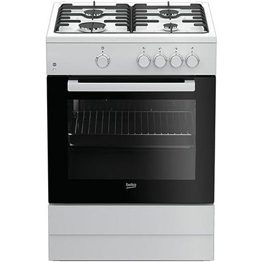 Beko FSG62000DWL - Cocina (Cocina independiente, Negro, Blanco ...