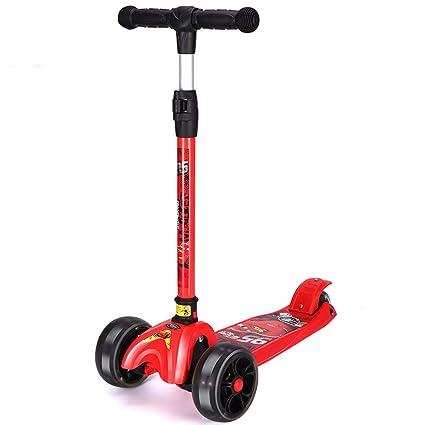 Amazon.com: Mini scooter se puede levantar y bajar plegable ...