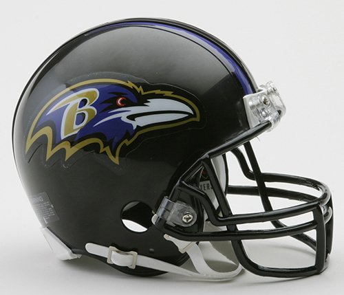(Baltimore RavensRiddell Mini Helmet )