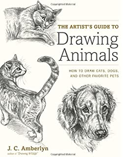 How to draw dogs and puppies a complete guide for beginners jc the artists guide to drawing animals how to draw cats dogs and other ccuart Image collections
