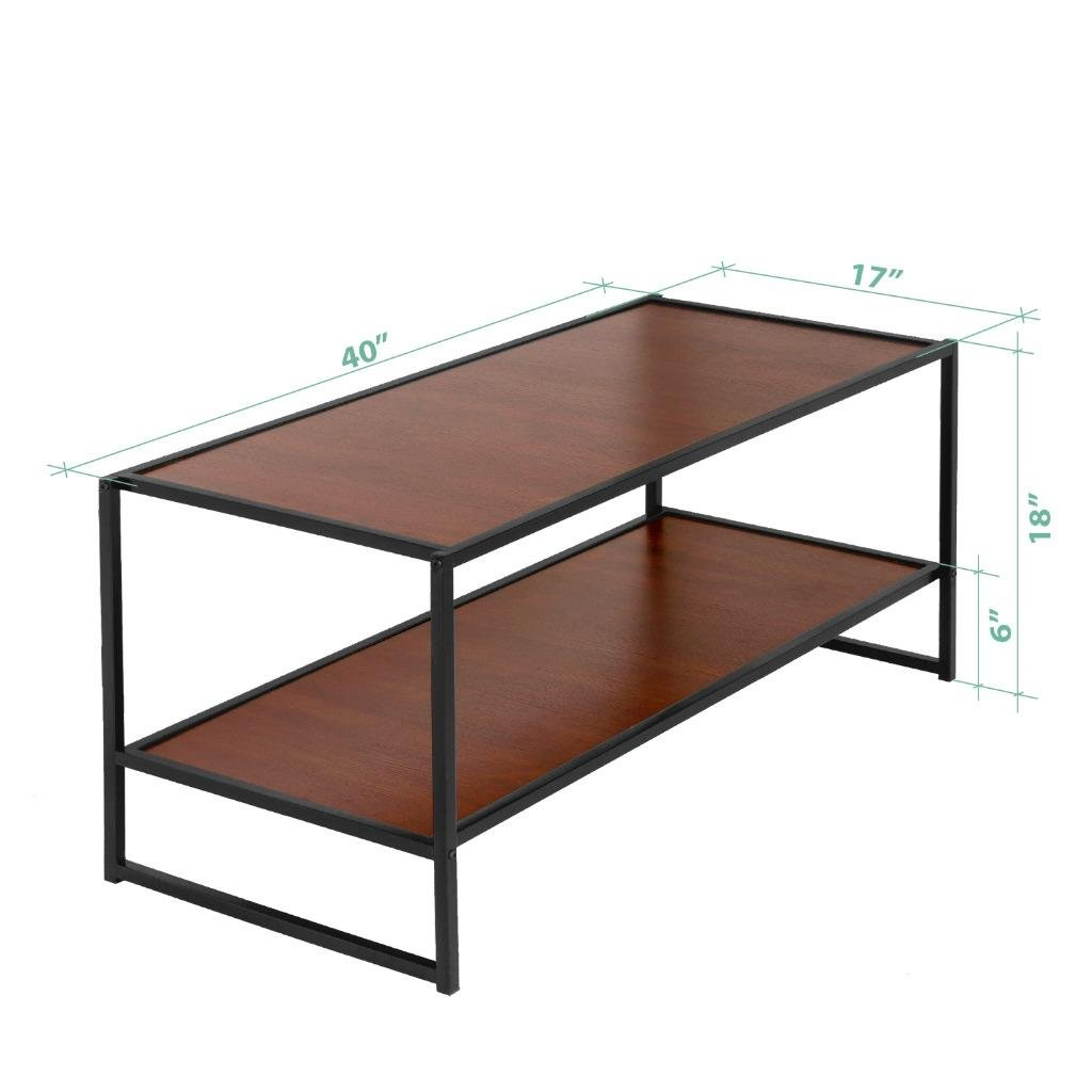 Zinus Garrison Modern Studio Collection TV Media Stand Table