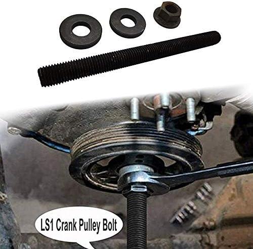 Annbey Harmonic Balancer Puller Crank Install Tool 551141 for GM 1997-Up LS LS1 LS2 LS4 Engines Crankshaft Installation Crank Pulley Installer