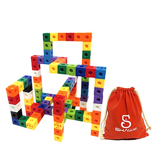SHAWE Kids Toys, 100 Piece Magic Cubes Set,Creative and