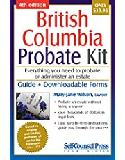 Probate Kit for British Columbia: Everything you need to probate an estate