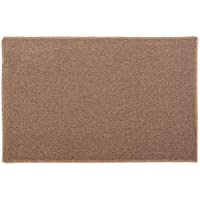 J&M Home Fashions 4141A Contemporary Area Rug, Perfect Bedroom, Living Kitchen, Laundry, Wash Room, Nursery, Loft, Office, 21x34, Beige