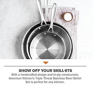 American Kitchen - Cookware Set