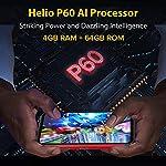 Écran 6,1 Pouces 4Go+64Go Octa-Core Telephone Portable 4G, Ulefone Armor 8 Smartphone Incassable Androud 10 5580 mAh… 9