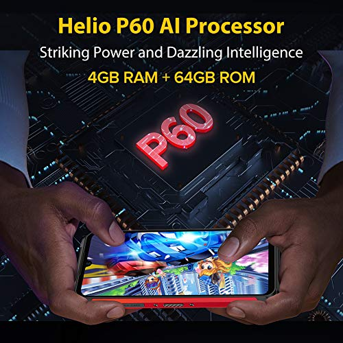 Écran 6,1 Pouces 4Go+64Go Octa-Core Telephone Portable 4G, Ulefone Armor 8 Smartphone Incassable Androud 10 5580 mAh… 4