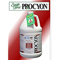 4 Each- 1 Case- 128 oz. Bottles- Soap Free PROCYON Tile & Grout Cleaner Concentrate