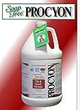 4 Each- 1 Case- 128 oz. Bottles- Soap Free PROCYON Tile & Grout Cleaner Concentrate