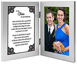 Amazon.com - To My Sister on My Wedding Day - Sister Gift ...