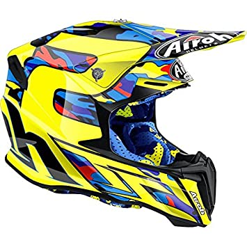 Casco Moto Cross Enduro Airoh Twist 2016 Replica TC16 Tony Cairoli Large
