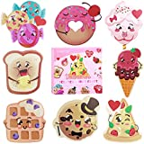 Valentines-Day-Cards-for-Kids-32PCS--8-Patterns--Scents-Scratch-and-Sniff-Exchange-Cards-for-School-Supplies-C