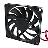 80mm 24v fan - DC Fan 80mm x 80mm x 10mm 24V Quiet Output 8010