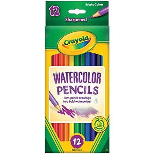 Crayola 12ct Watercolor Colored Pencils Case of 48 Dozens by Crayola