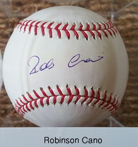 Robinson Cano Signed Autographed Official Major League (OML) Baseball - COA Matching - The Robinson Mall