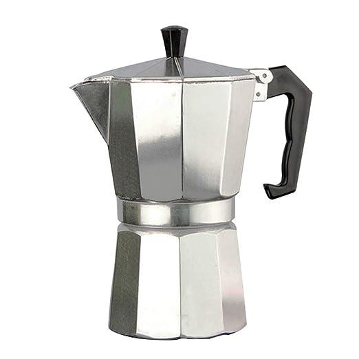 Lifet - Cafetera italiana (6 tazas, S, M, L, XL) pequeño ...