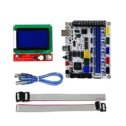 Cikuso - Placa Base para Impresora 3D MKS Gen L + 12864LCD Display ...