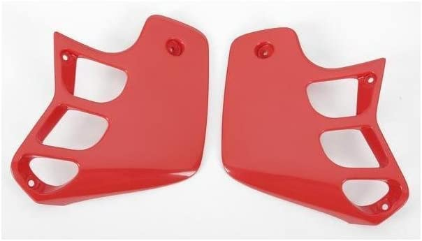 for Honda RAD CVR CR125//250 89 RED UFO HO02610061 Replacement Plastic