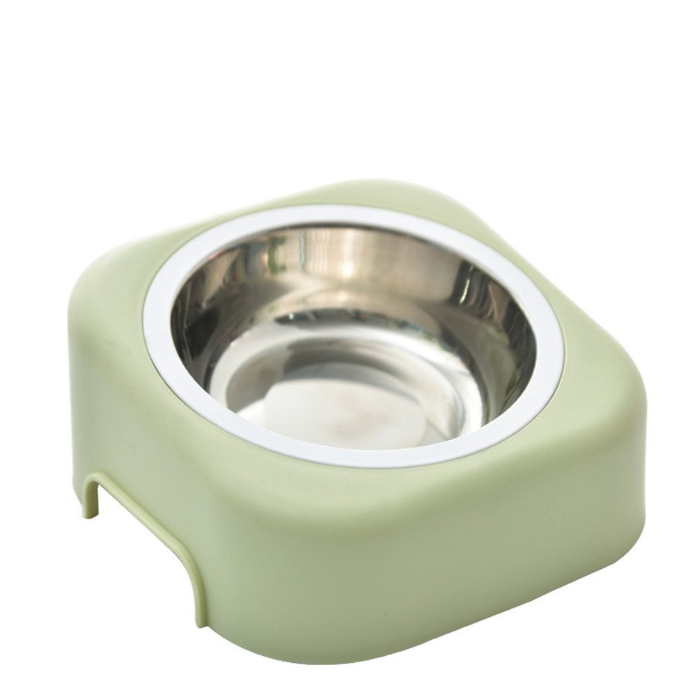 Green Stainless Steel Bowl for Dogs and cat,Green