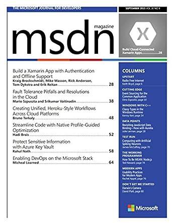 MSDN MAGAZINE PDF DOWNLOAD