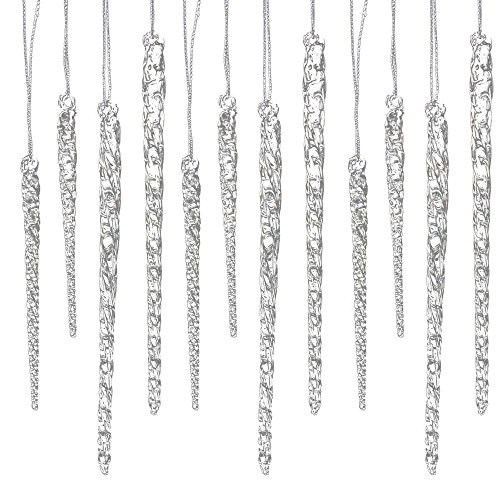Long Icicle Ornaments - 4