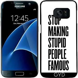 Funda para Samsung Galaxy S7 - Gente Famosa Estúpidas by wamdesign