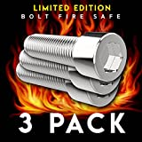 Pro Security Bolt (3 Pack) - Premium Clever Diversion Safe Lock Box - Alloy Metal Stash Hidden Security - Best Gifts of 2018 - On The Go Travel Case For Your Valuables - Limited Quantity Available