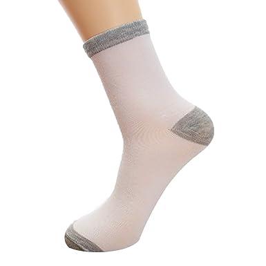 cf0b25ff365d3 Chaussettes Hommes Chaussettes Hommes Coton Longues Rétro Rayé Bande Mode  Socquettes de Sport Sock Confortable (