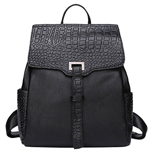 Partiss Mochila Para Bolso Mujer Negro 4R5WRAfqrP