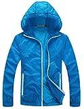 Panegy Outdoor Lightweight Dri-fit Skin Jacket Quick-dry Sun Protect Windbreaker for Men
