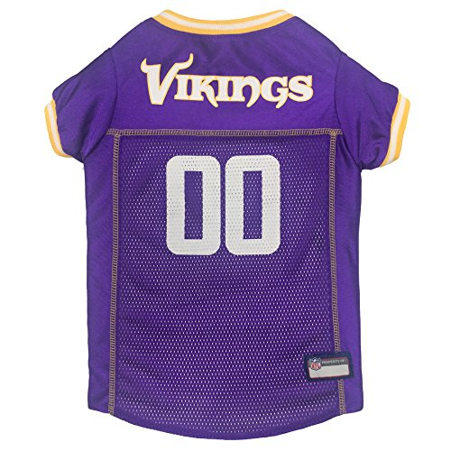 Pets First NFL Minnesota Vikings Pet Jersey, X-Small