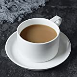 DHG American Coffee Cup Set Ceramic Household Creative Coffee Cup Saucer Continental Cup Spoon Holder,F