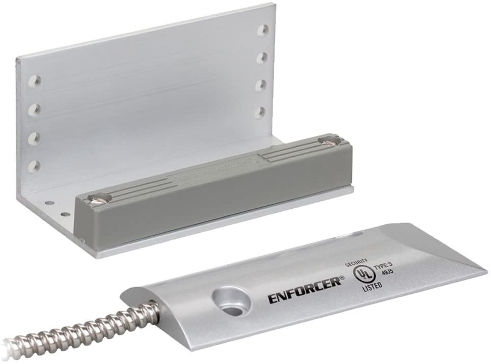 SM-226L-3Q Seco-Larm Overhead Door Mount N.C. Magnetic Contact w/ 3 Wires for N.O./N.C. Applications