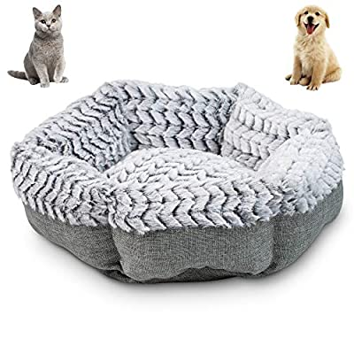 Pet Craft Supply Soho Round Machine Washable Memory Foam Comfortable Ultra Soft All Season