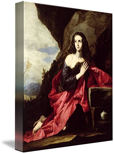 Wall Art Print entitled St. Mary Magdalene Or St. Thais In The Desert, C.1 by The Fine Art Masters | 36 x 44 by Imagekind