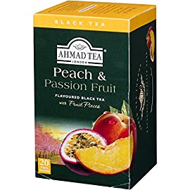 Ahmad Tea of London Peach & Passion Fruit Tea Bags 20s Box 33 Ahmad Tea of London Peach & Passion Fruit Tea Bags 20s Box1