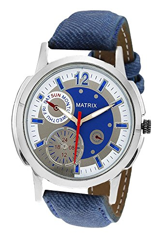 Matrix Analog Multi Colour Dial Men's Watch-CH9-BLU
