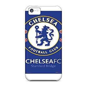 Best Hard Phone Cases For Iphone 5c (yzf14138JcWq) Customized High-definition Chelsea Fc Series