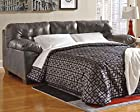 Ashley Furniture Signature Design - Alliston Contemporary Sleeper Sofa - Queen Size Mattress