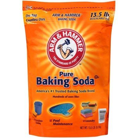 ARM & HAMMER Baking Soda, 13.5 Pound (2 Pack)