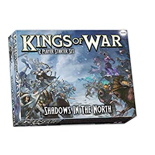 Kings of War 3rd Edition: Shadows in The North Two Player Starter Set