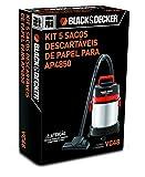 VC48 Kit acessório para Aspirador AP4850. Ideal para limpezas básicas do dia a dia. Contém 5 coletores de pó de papel descartáveis.