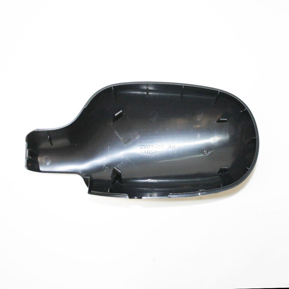 C/ôt/é droit Coque de r/étroviseur avec capuchon en noir OEM 7701471855/8200634548