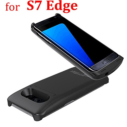 S7 Edge Charger court case NOVPEAK 5200mAh super skinny Rechargeable Extended Backup Battery Charger court case for Samsung Galaxy S7 edge mobile or portable Charger Galaxy S7 EDGE potential Pack get  Bank Battery Charger Cases