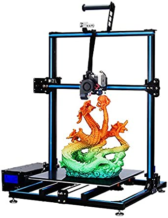 ADIMLab Updated Gantry Pro 3D Printer with 310X310X410 Big Size 24V Power, Titan Direct Extruder, Lattice Glass, Resume Print and Run Out Detection, Modifiable to Upgrade to Auto Leveling&WiFi