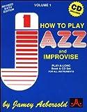 Vol. 1, How to Play Jazz & Improvise (Bo