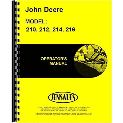 john deere 200 excavator operators manual
